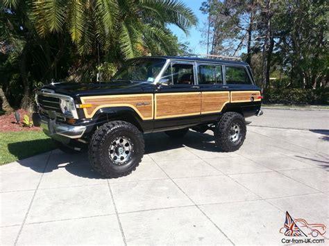 jeep wagoneer lifted 1989 jeep grand wagoneer 360 4x4 lifted amazing eye