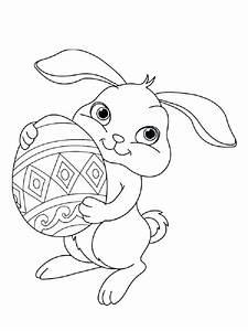 Dessin A Imprimer De Paques : dessin a imprimer lapin de paques a coloriage a imprimer ~ Melissatoandfro.com Idées de Décoration
