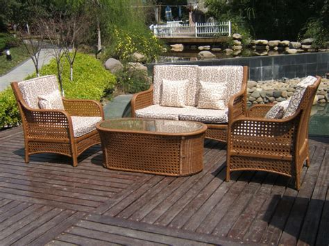 rattan patio furniture set icamblog