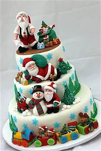Home Decorating Ideas: Christmas cake decorating ideas