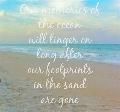 coastal quote ocean memories