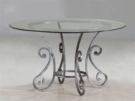 table verre fer forg 233 ronde de salle 224 manger table 224 manger en fer forg 233 table de