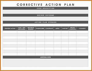 plan of correction template notary letter With call center action plan template