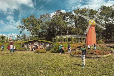 wisata taman bunga celosia semarang indonesia populer
