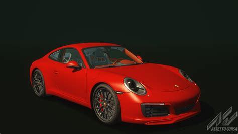 red porsche 2016 porsche 911 carrera s porsche car detail assetto