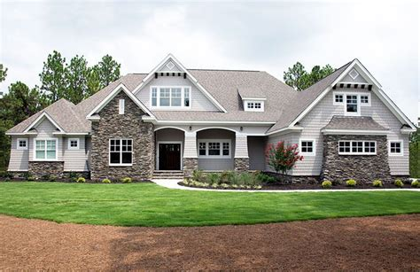 markham house plan front exterior home ranch
