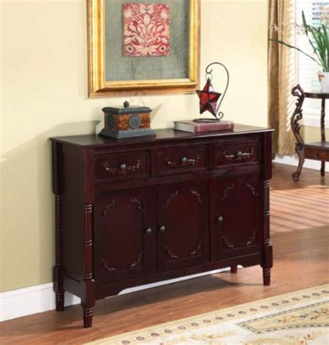 hobby lobby table ls king 39 s brand r1021 wood console sideboard table with