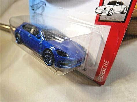 Porsche panamera sport turismo в новом кузове. 2020 Hot Wheels #44 PORSCHE PANAMERA TURBO S E-HYBRID SPORT TURISMO Blue Variant - Contemporary ...