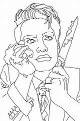 Urie Brendon sketch template