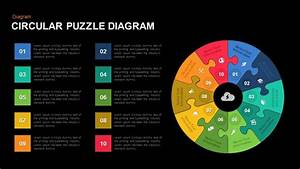 Circular Puzzle Diagram Template For Powerpoint And Keynote