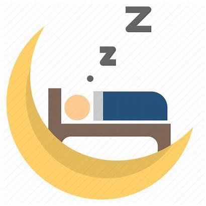 Sleep Night Icon Moon Rest Bedroom Icons