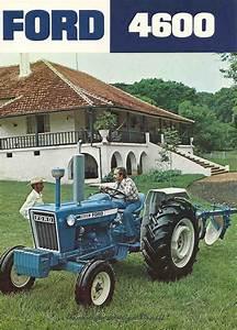 Carro Antigo  Trator Ford 4600 1976