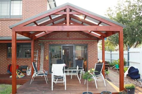 Gable/pitched Roof Pergola For Marvelous And Charming