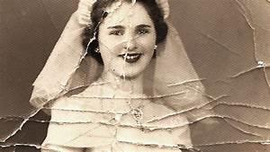 Badly Damaged Wedding Photo Saved