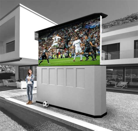 25 best ideas about outdoor tv mount on flat