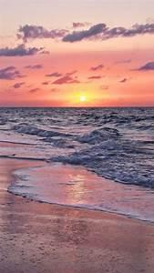 zonsondergang op het strand sunset wallpaper