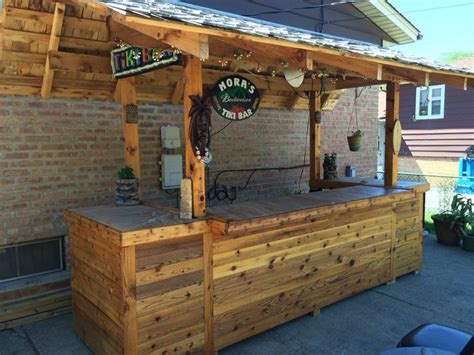 homemade backyard tiki bar tiki bar outdoor tiki