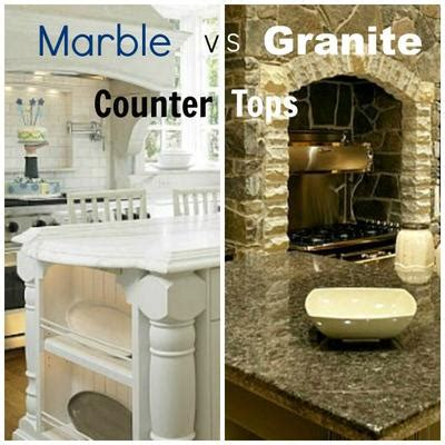 Vs Granite by Marble Vs Granite Kitchen Countertop
