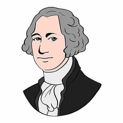 George Washington Draw Drawing Easy Step Instructions