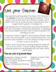 Elementary teacher introduction letter of text ld for Letter to parents template from teachers
