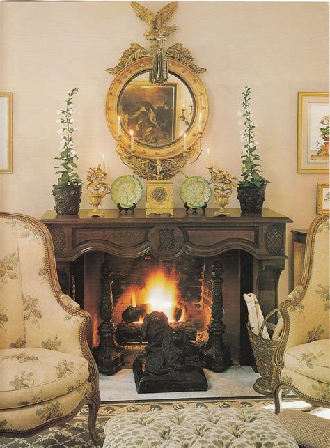 french country mantel ideas  pinterest mantels french