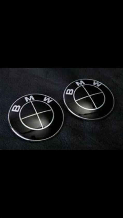 bmw emblem schwarz bmw embleme schwarz chrom 74 82 mm forum flohmarkt