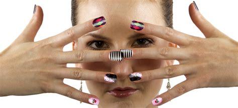 nail art decora tus unas  cinta adhesiva