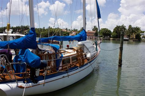 Boat Dealers Ta Fl by 1977 Used Ta Chiao Ct 41 Ketch Sailboat For Sale 84 000