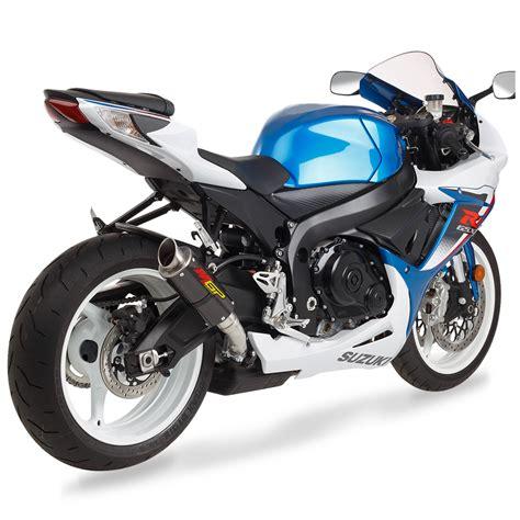 Suzuki Gsxr 750 Parts by Mgp Exhaust Slip On Carbon Fiber Suzuki Gsxr600 Gsxr750