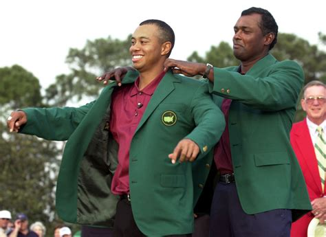 2001: Tiger Woods wins fourth straight major at Masters ...