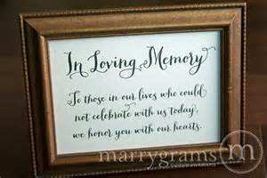wedding guest sign in ideas in loving memory sign table card wedding reception seating