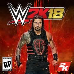 WWE Roman 2K18 Cover
