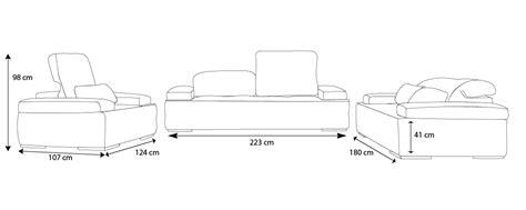 densité canapé salon cuir nobel canapés 3 2 places fauteuil mobilier