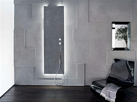 docce a muro acquapura colonna doccia a parete by fantini rubinetti