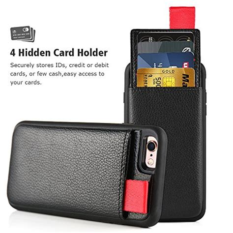 Icarer iphone 6 plus/ 6s plus vintage wallet case with two credit cards slot design. iPhone 6 Plus / 6s Plus Wallet Case, LAMEEKU Shockproof Leather case with Credit Card Holder ...