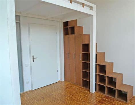 Hochbett Mit Regal Treppe by Hochbett Und Regal Treppe Bedrooms Hochbett Bett