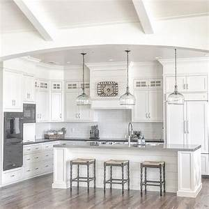 beautiful homes of instagram home bunch interior design With kitchen colors with white cabinets with canvas black and white wall art