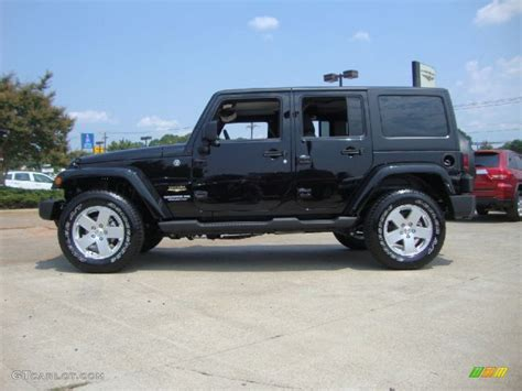 2012 Jeep Wrangler Unlimited by Black 2012 Jeep Wrangler Unlimited 4x4 Exterior