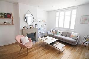 Salon Design Scandinave : home tour notre salon d 39 inspiration scandinave les jolis mondes ~ Preciouscoupons.com Idées de Décoration