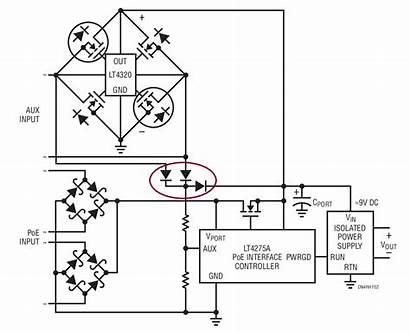 Bridge Active Diode Heat Power Reduce Dissipation