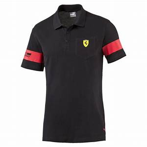 Ferrari Polo Shirt : puma ferrari polo shirt in black for men lyst ~ Kayakingforconservation.com Haus und Dekorationen