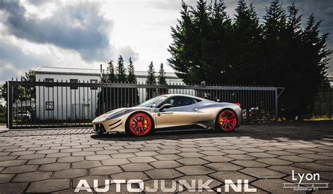 Ferrari 458 Italia By Prior Design Fotos Autojunknl