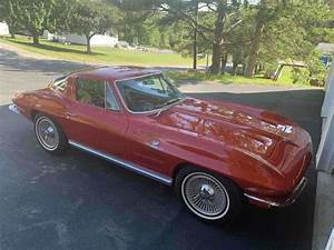 1964 Chevy Corvette Fuel Injection Coupe Red Rwd Manual