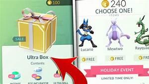 SECRET ITEMS INSIDE POKEMON GO GIFT BOXES! NEW POKEMON GO ...