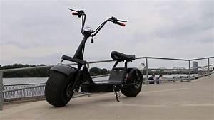 Scooter Roller Elektro : harley elektro roller e scooter chopper style bike ~ Jslefanu.com Haus und Dekorationen