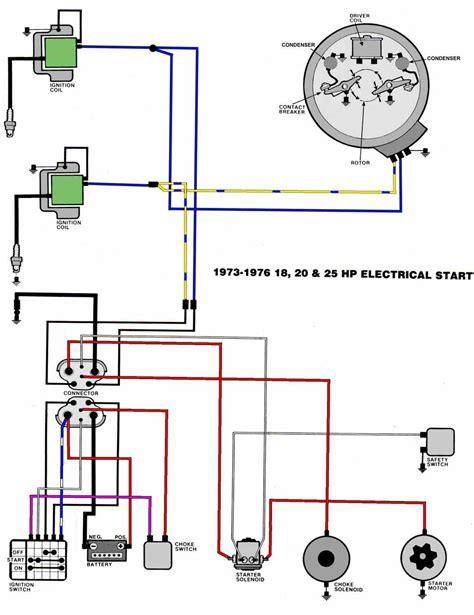 Evinrude Electric Diagram Engine Wiring Images