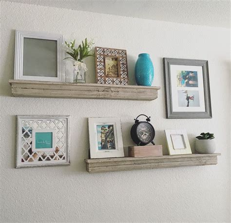Decorative Wall Shelves For Living Room by Stylish Diy Floating Shelves Wall Shelves Easy For