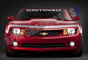 Camaro Windshield Banner Decal Vinyl Sticker Chevy