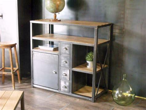 meuble de cuisine industriel photo buffet de cuisine style industriel