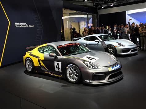 2016 Porsche Cayman Gt4 Clubsport Races Into La Auto Show